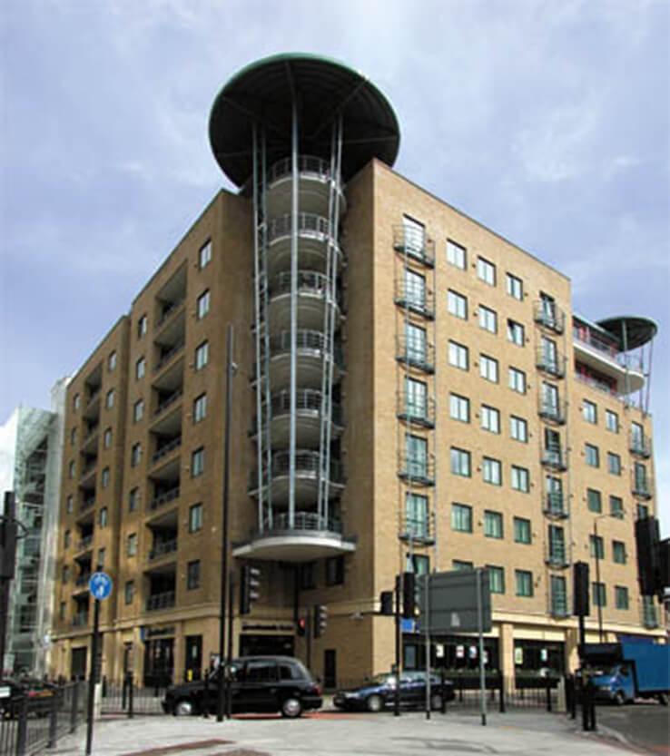 Investigating water ingress in central London residential block