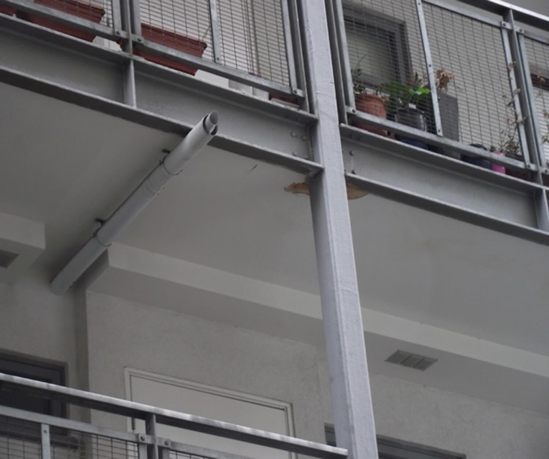 Balcony water leaks in London